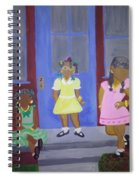Girl's Dreaming Of Being Women Spiral Notebook