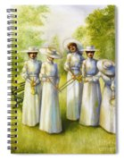 Girls In The Band Spiral Notebook