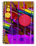 Girls Just Wanna Have Fun Spiral Notebook