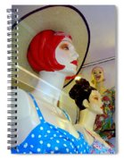 Girls Of Summer Spiral Notebook