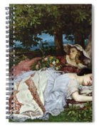 Girls On The Banks Of The Seine Spiral Notebook