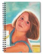 Girl's Portrait Spiral Notebook