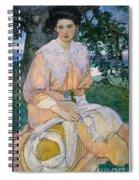 Gisele C1908 Spiral Notebook