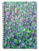 Gisement De Lavande Spiral Notebook