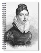Giuditta Pasta (1798-1865) Spiral Notebook