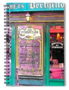 Glaces And Sorbets Berthillon Spiral Notebook