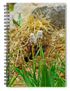 Glacial Wildflowers Spiral Notebook