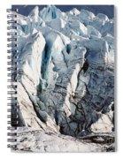 Glacier Detail Spiral Notebook