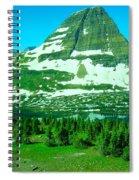 Glacier Formed Spiral Notebook