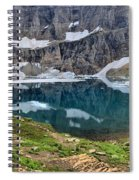 Glacier Icebergs Spiral Notebook