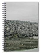Glacier In Iceland Spiral Notebook