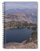 Glacier Lake 3 Spiral Notebook