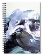 Glacier Mountains Spiral Notebook