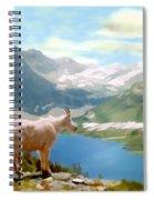 Glacier National Park Spiral Notebook