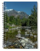 Glacier National Park-st Mary's River Spiral Notebook