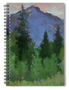 Glacier Nat'l Park - Plein Air -  Rising Wolf Ranch Spiral Notebook
