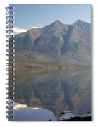 Glacier Reflection1 Spiral Notebook