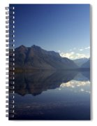 Glacier Reflections 2 Spiral Notebook