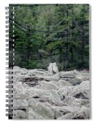 Glacier Rock 2 Spiral Notebook