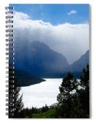 Glacier Showers Spiral Notebook
