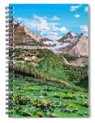 Glacier Summer Spiral Notebook