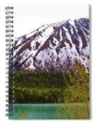 Glacier Waters Spiral Notebook