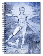 Glad Day By William Blake Spiral Notebook