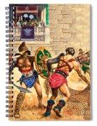 Gladiators Spiral Notebook