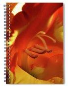 Gladiola Interior Spiral Notebook