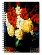 Gladiolas Spiral Notebook