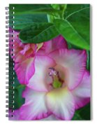 Gladys Blooms In A Blueberry Bush Spiral Notebook