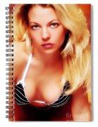 Glam Spiral Notebook
