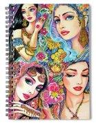 Glamorous India Spiral Notebook