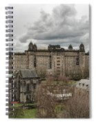 Glasgow Cathedral And Victoria Infirmary Spiral Notebook