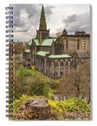 Glasgow Cathedral From The Necropolis Spiral Notebook
