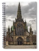 Glasgow Cathedral Front Entrance Spiral Notebook