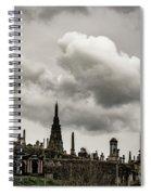 Glasgow Necropolis Graveyard Spiral Notebook