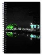 Glasgow Riverside Spiral Notebook