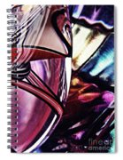 Glass Abstract 523 Spiral Notebook