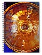 Glass Abstract 577 Spiral Notebook