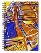 Glass Abstract 768 Spiral Notebook