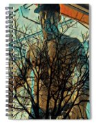 Glass And Branches  Spiral Notebook