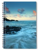 Glass Beach Dawn Spiral Notebook