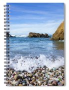 Glass Beach, Fort Bragg California Spiral Notebook