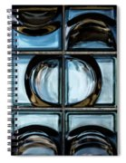Glass Blocks Spiral Notebook