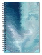 Glass Heart Spiral Notebook
