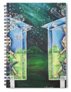 Glass Houses Spiral Notebook
