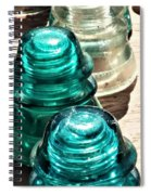 Glass Insulators Spiral Notebook