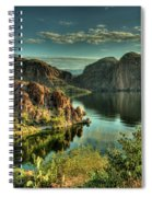 Glass Lake Spiral Notebook