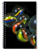 Glass Marbles Spiral Notebook